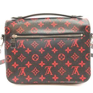 Louis Vuitton Bags - Pochette Metis Infrarouge Red Canvas Cross BodyBag